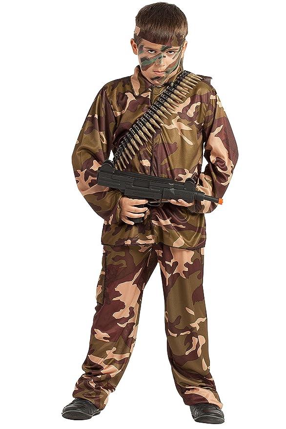 Disfraz Soldado Camuflaje (10-12 AÑOS)