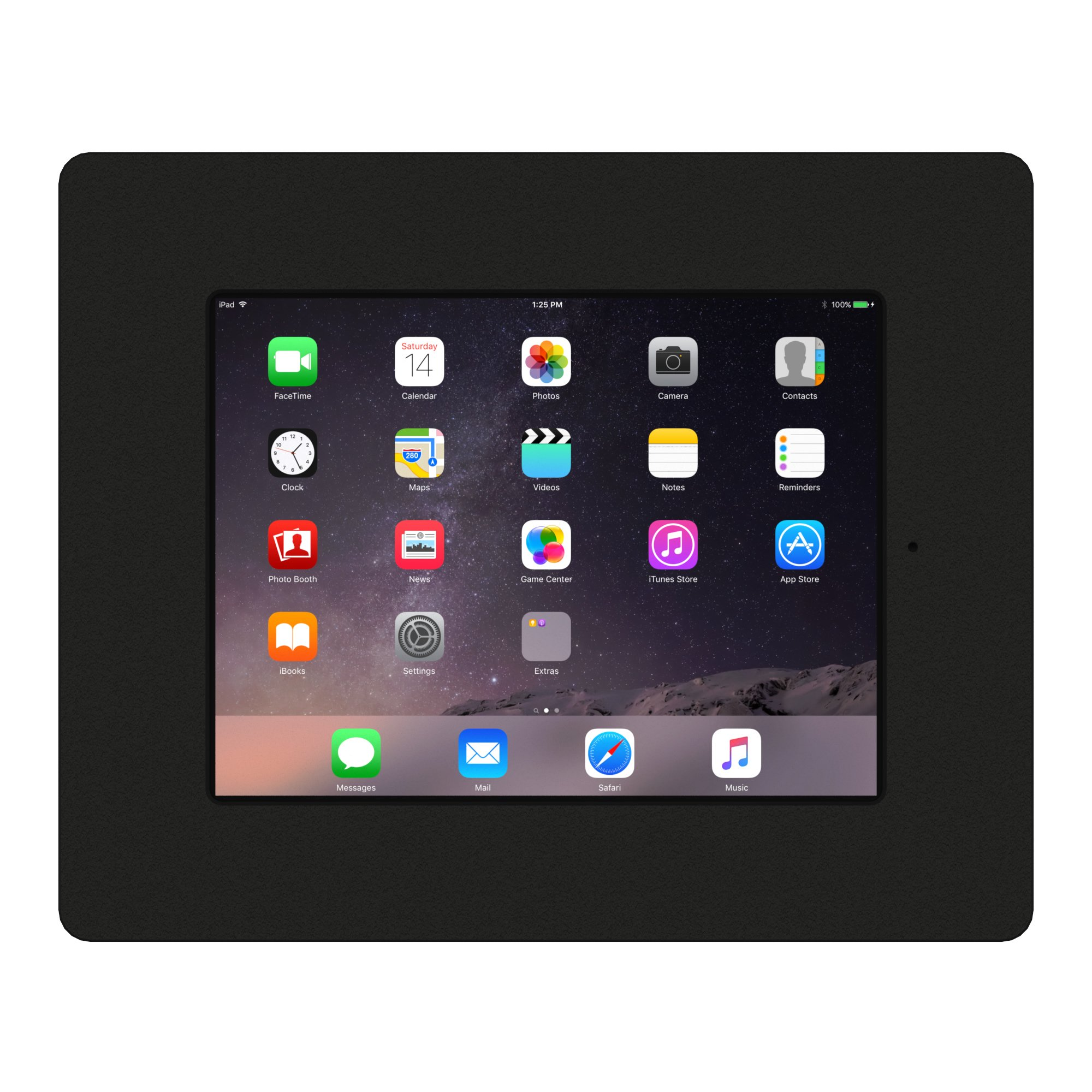 VidaMount iPad 2/3/4 Black Home Button Covered Fixed Permanent Glass Mount [Bundle] by VidaMount (Image #3)