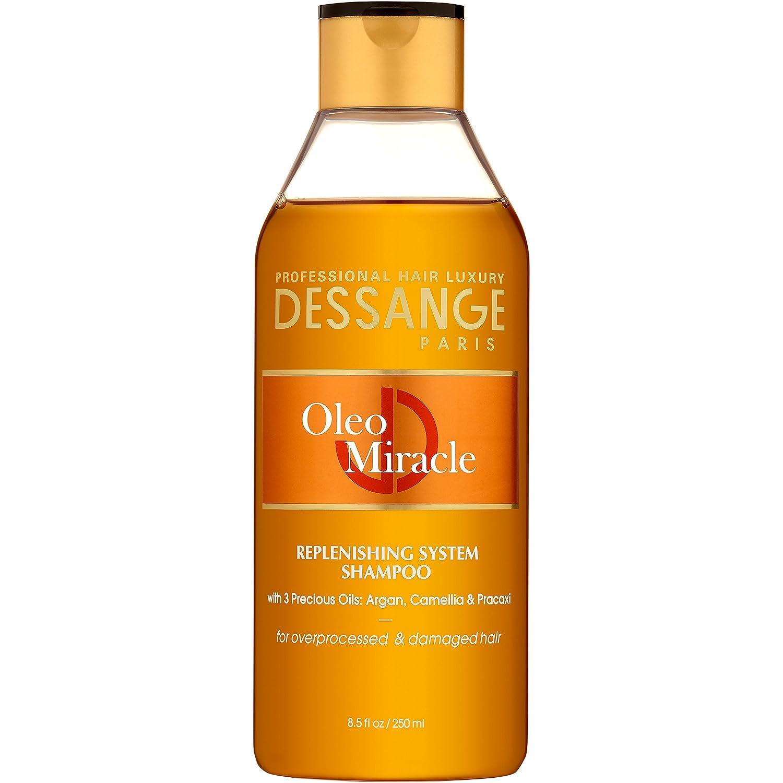 Dessange Oleo Miracle Replenishing System Shampoo, 8.5 Fluid Ounce