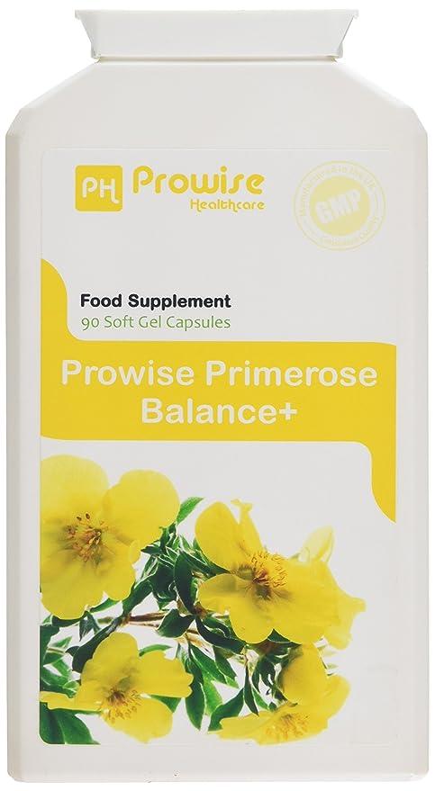 Aceite de prímula de noche de Prowise 1000mg 90 cápsulas - Apoya niveles equilibrados de la