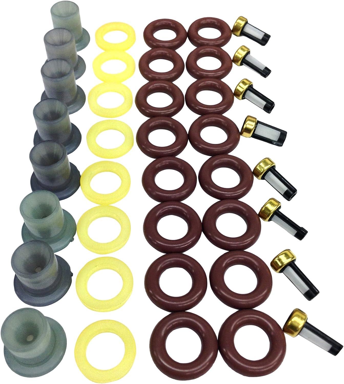 1 Pack UREMCO 1-8 Fuel Injector Seal Kit