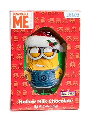merry christmas despicable me christmas minions hollow milk chocolate figure - Merry Christmas Minions