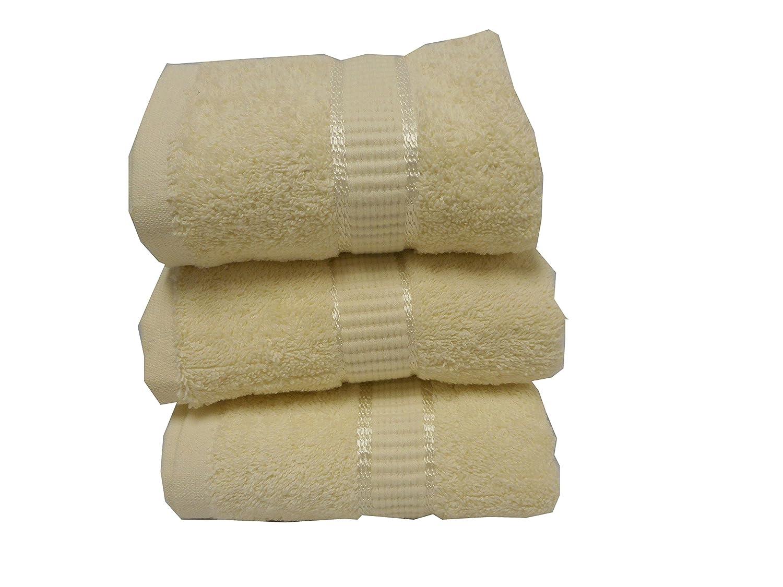 Livingston Home NW-00001 Newage 100% Cotton Towels 6 Piece / 2 Bath 2 Hand & 2 Wash Towel Set Lavender