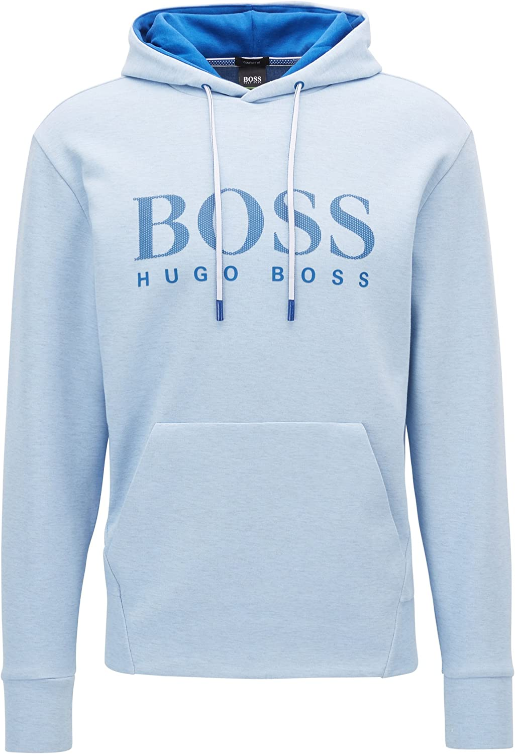 Hugo Boss Heritage Cotton Regular Fit Hooded Navy Tracksuit
