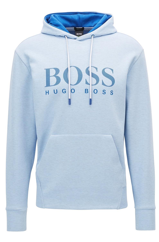 9c924924c Amazon.com: Hugo Boss Men's Blue Soody Sweatshirt: Clothing