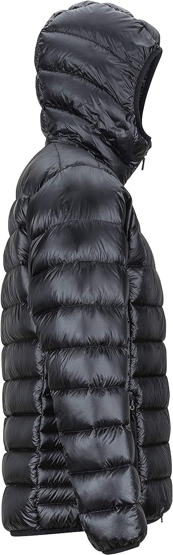 Piumino Ultraleggero Isolante Esterno Marmot Hype Down Hoody Black Densit/à Dellimbottitura 800 Antivento Uomo Giacca Impermeabile Idrorepellente