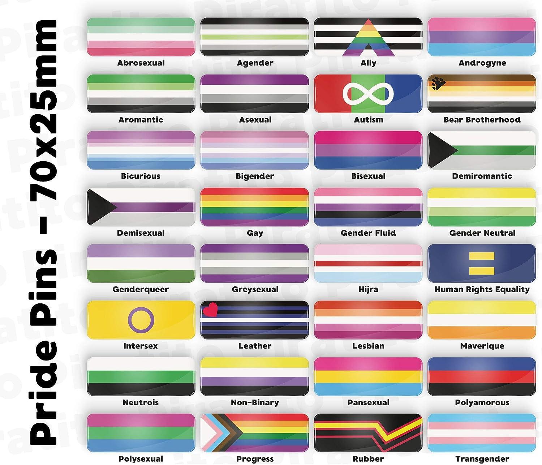 Demisexual Pride Flag pin badge button or fridge magnet LGBT LGBTQ LGBTQI LGBTQIA