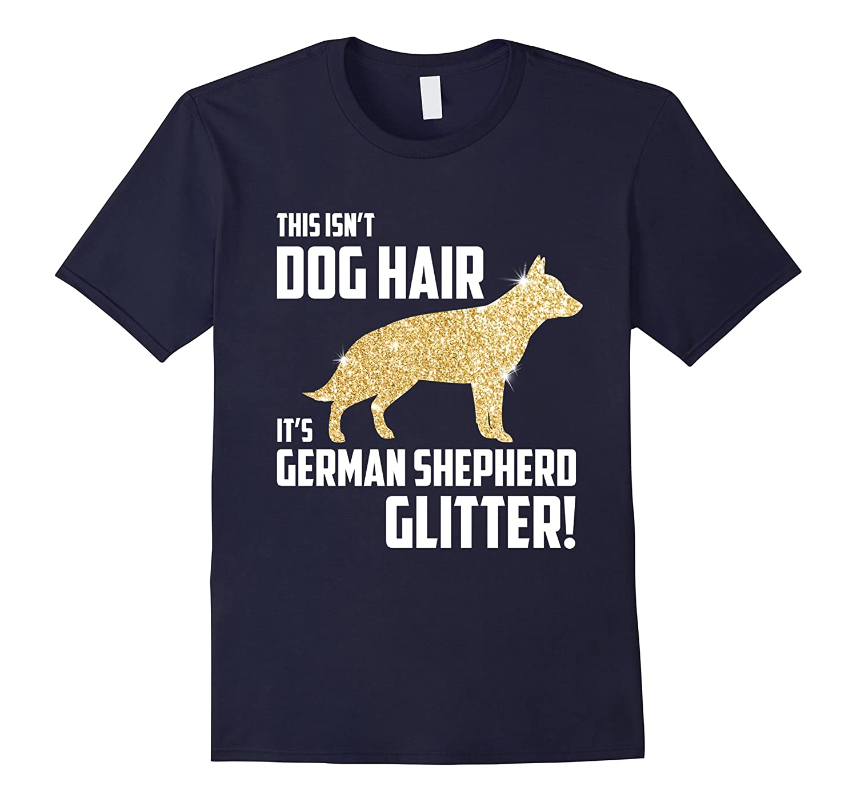 Womens German Shepherd Glitter T Shirt-Awarplus
