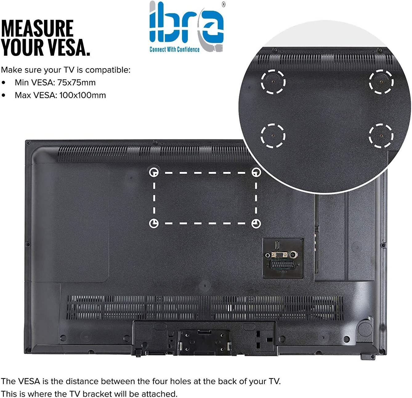 Articulated Support for IBRA TV Compatible with Most Monitors from ...
