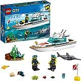 レゴ(LEGO) シティ ダイビングヨット 60221 ブロック おもちゃ
