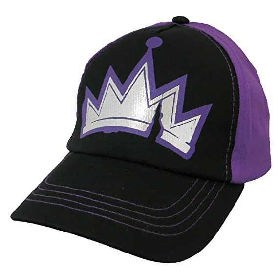Amazon.com  Disney Descendants Girls Purple Baseball Cap  6012 ... 4cfeece32715