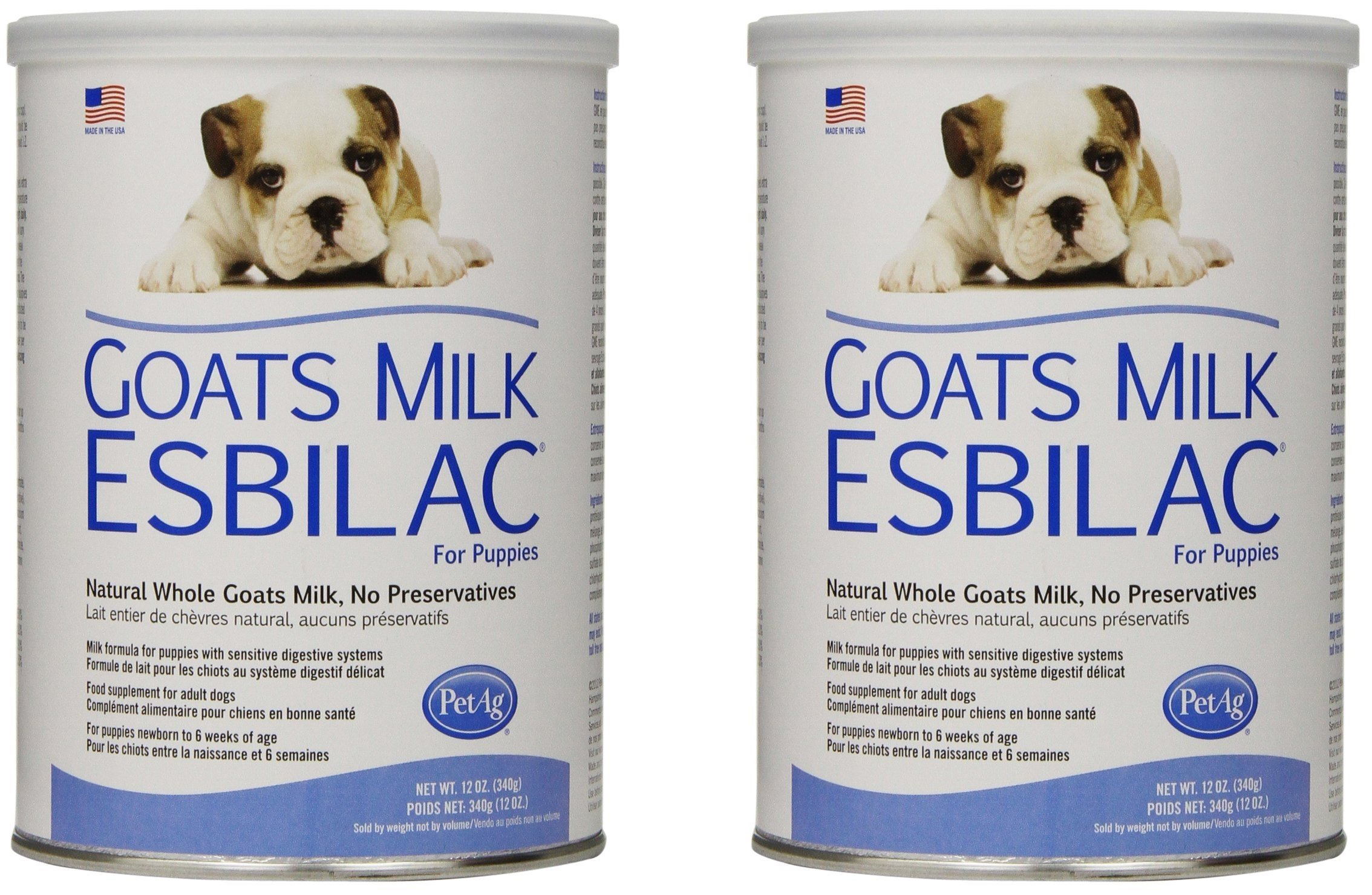 PetAg Goat's Milk Esbilac Powder - 12 Ounce (2 Pack) by Pet Ag Products