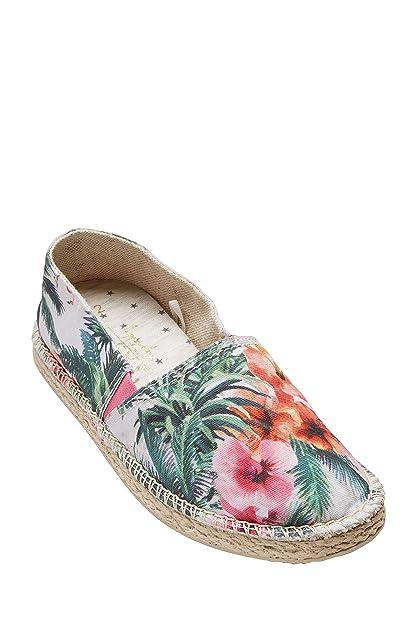 Next Niñas Alpargatas (Niña Mayor) Estándar Estampado Floral EU 41: Amazon.es: Zapatos y complementos
