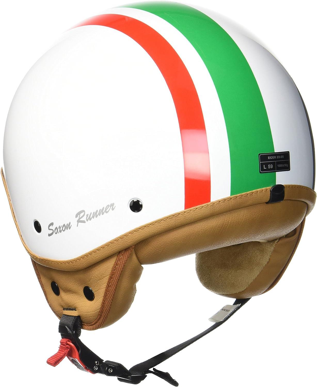 57-58cm Soxon SP-301 Casque Moto Multicolore//Challenger M