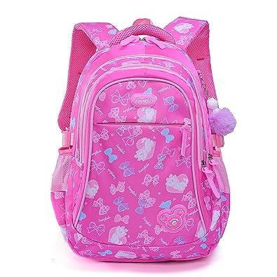 Amazon.com: Mochila infantil de lona preescolar casual para ...