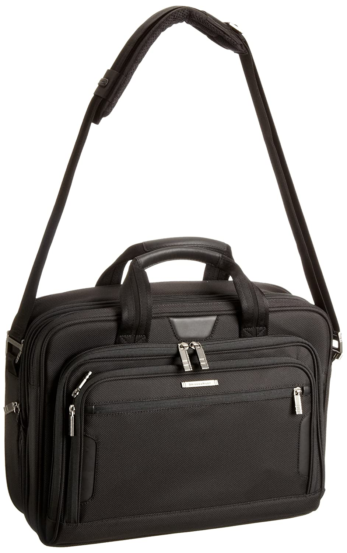 Black KB207X-4 Briggs /& Riley @ Work Luggage Medium Expandable Brief