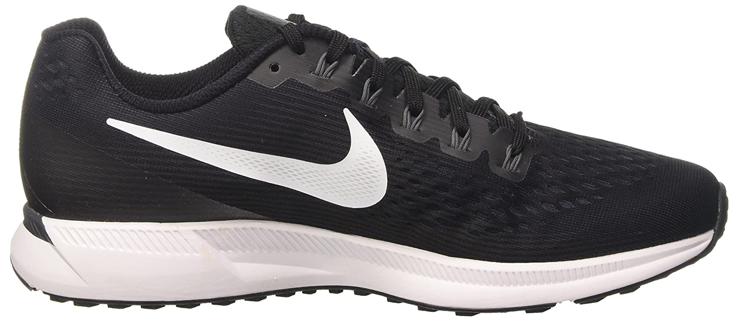 size 40 2fee7 2acfb Amazon.com   Nike Men s Air Zoom Pegasus 34 Running Shoe Black White-Dark  Grey-Anthracite   Road Running