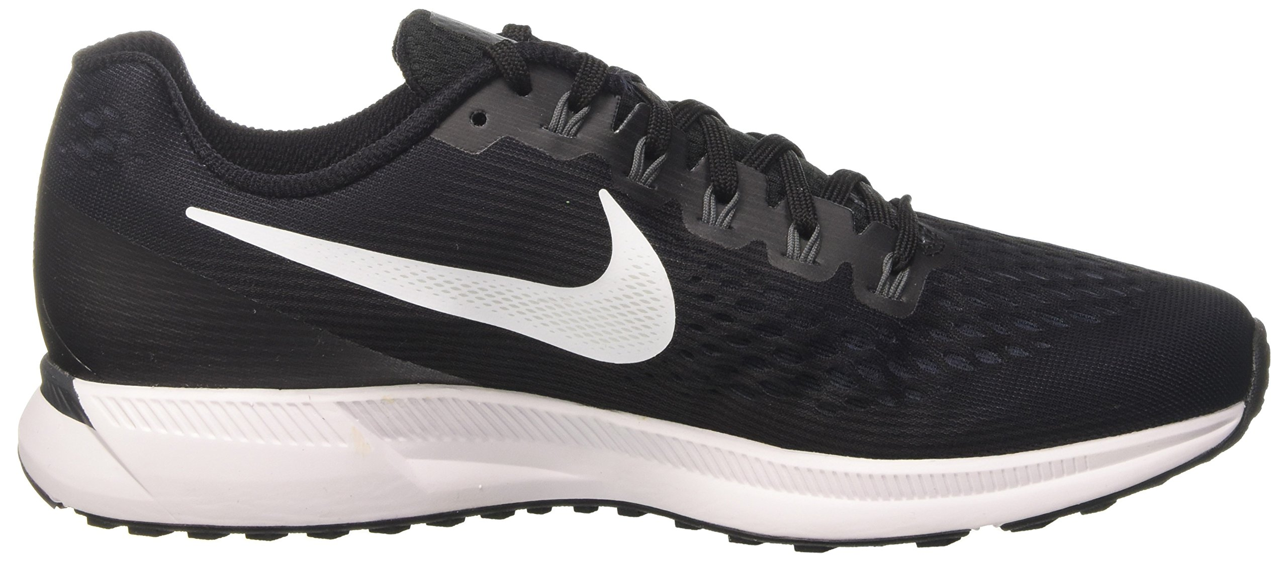 NIKE Mens Air Zoom Pegasus 34 (9.5, Black/Dark Grey/Anthracite/White)