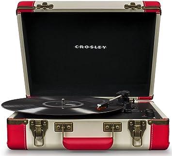 Crosley cr6019dblk tocadisco Vinilo Tocadiscos inalámbrico ...