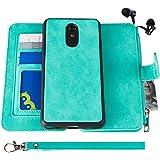 LG Stylo 4 Case, Modos Logicos [Detachable Wallet Folio][2 in 1][Zipper Cash Storage][Up to 14 Card Slots 1 Photo Window…