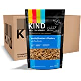 Kind Healthy Grains Clusters, Vanilla Blueberry with Flax Seeds Granola Gluten Free
