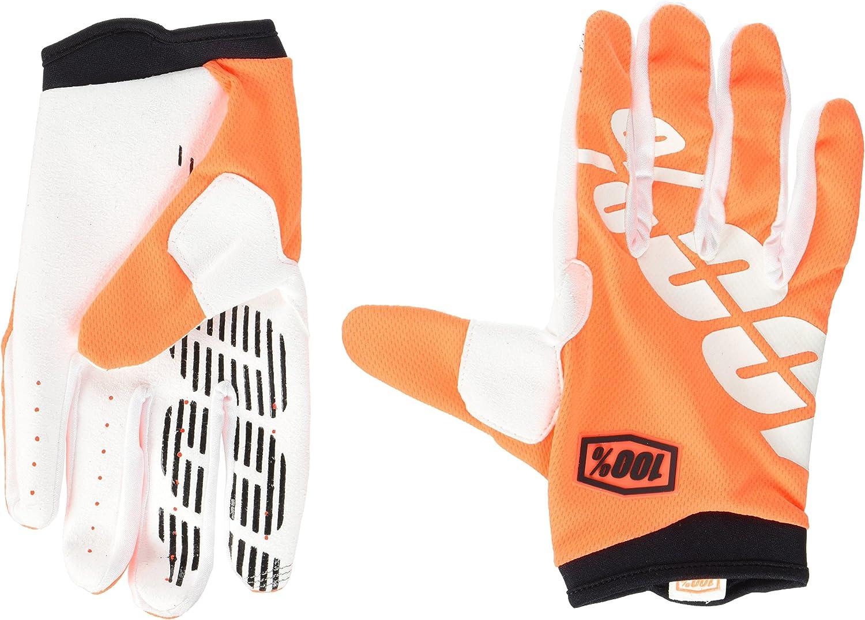 100/% Apparel iTrack Glove Guanti Bicicletta MX BMX Enduro Mountain Bike Arancione