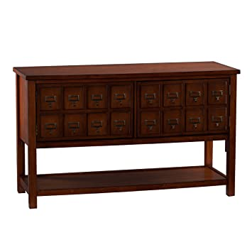 apothecary consoletv stand brown mahogany amazoncom altra furniture ryder apothecary tv