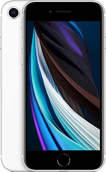 Apple MX9P2LL/A-TF New Total Wireless Prepaid - Apple iPhone SE (64GB) - White [Locked to Carrier – Total Wireless]
