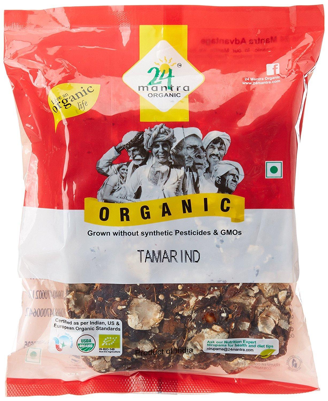24 Mantra Organic Tamarind Premium, 500g (Pack of 2)