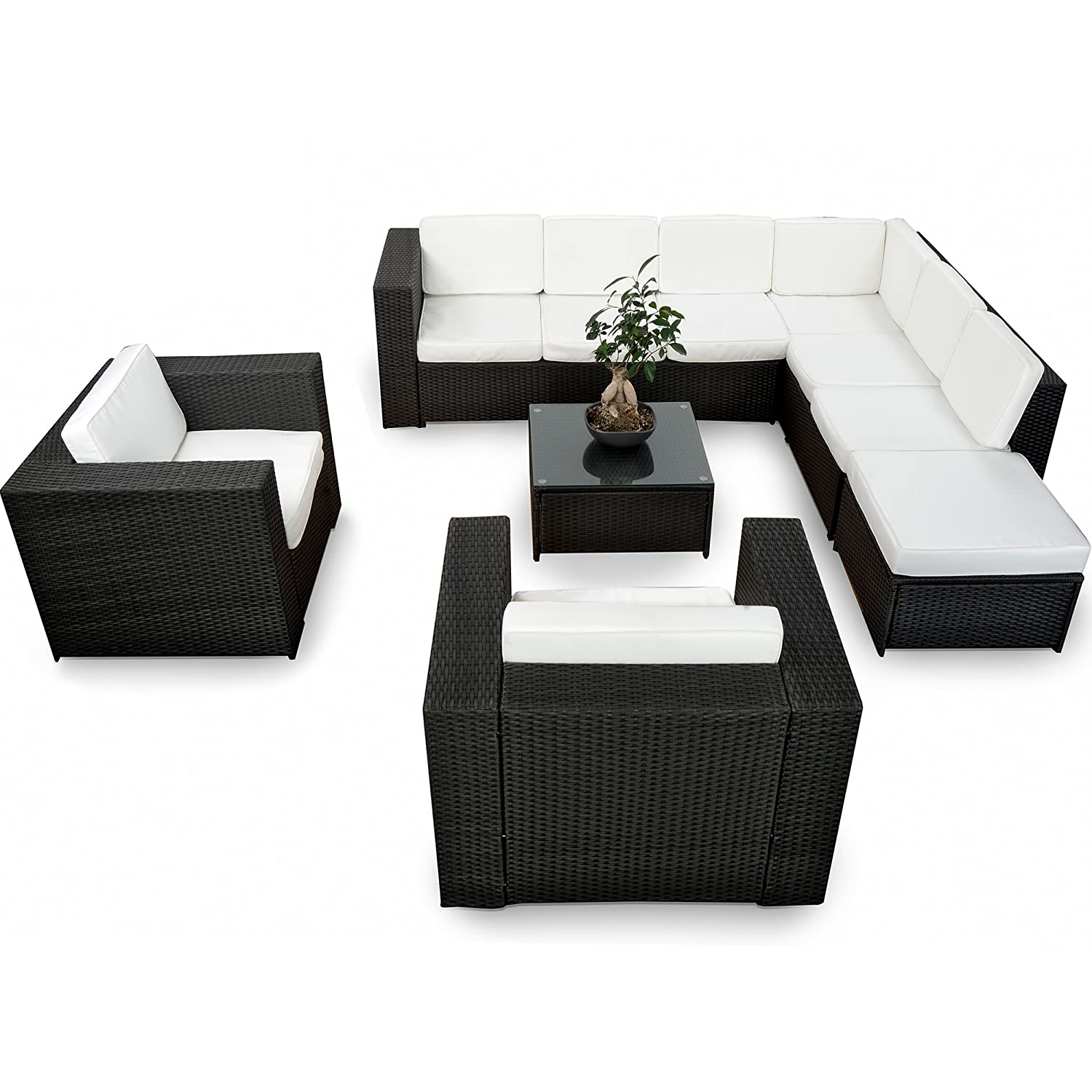 lounge sessel rattan g nstig. Black Bedroom Furniture Sets. Home Design Ideas