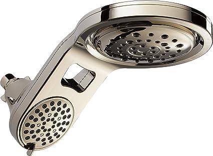 Amazon Com Delta Faucet Hydrorain 5 Spray Touch Clean 2 In 1 Rain