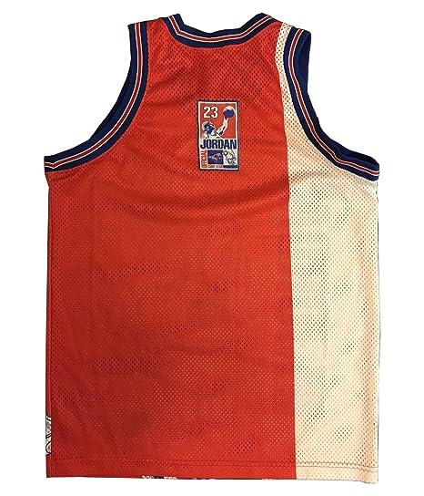 91d02313cda2 Amazon.com  Kooy Jordan Space Jam  23 Tune Squad Movie Basketball Jersey  Men  Clothing