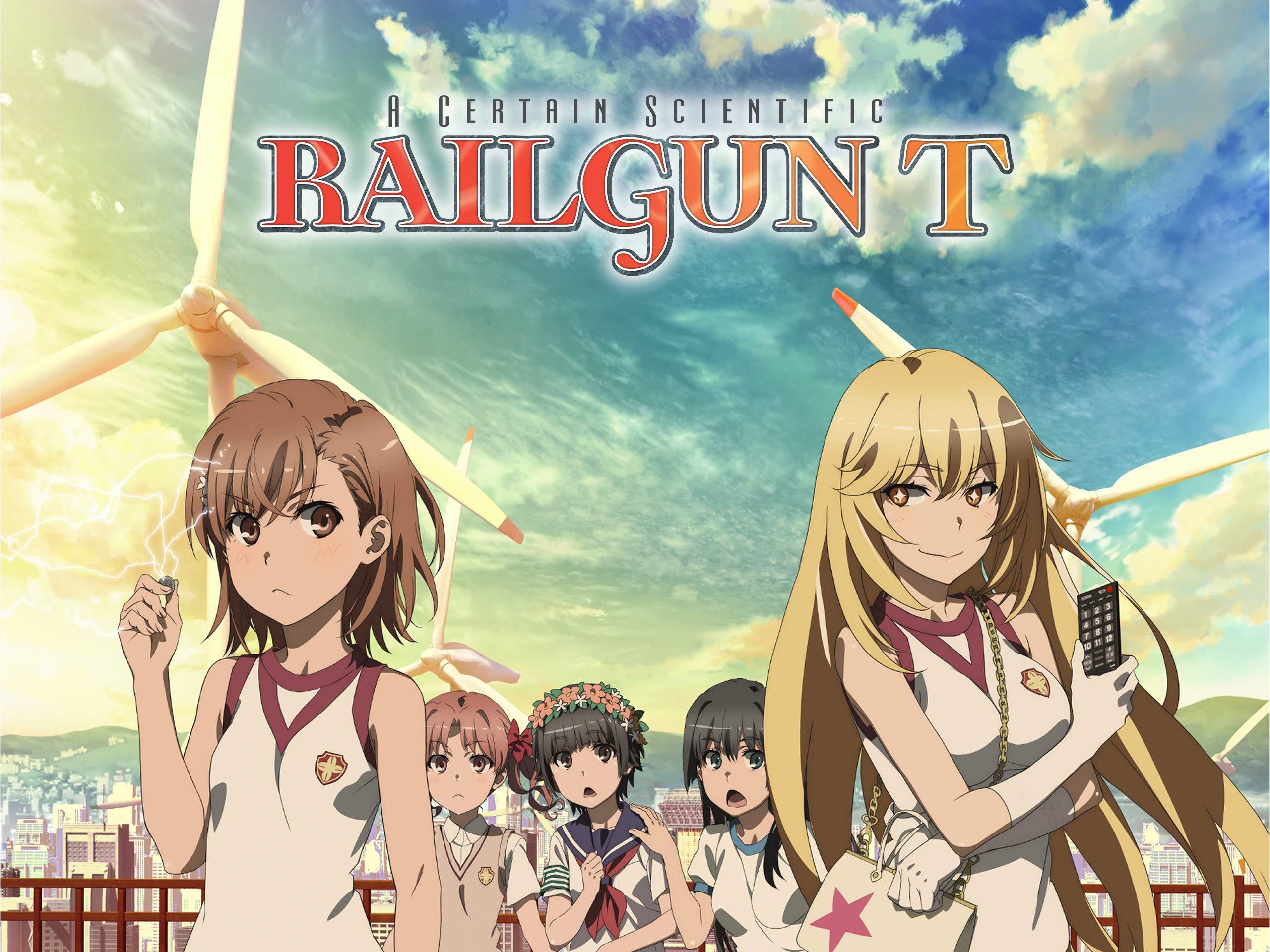 Watch A Certain Scientific Railgun T, Season 3, Pt. 1 (Original Japanese Version)   Prime Video