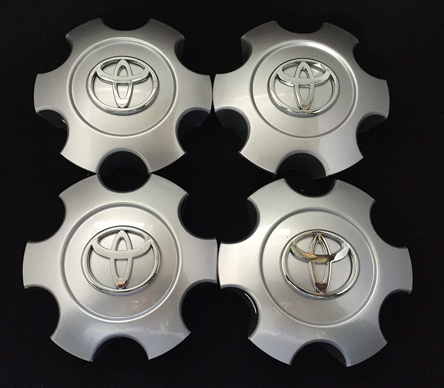 4pcs 03-06 Tundra & 03-07 Sequoia WHEEL CENTER CAP HUBCAP BRIGHT SILVER AOWIFT