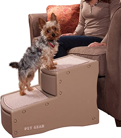 Pet Gear Easy Step II Escalera para Mascota de 2 escalones para Gatos y Perros de hasta 150 Libras: Amazon.es: Productos para mascotas