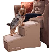 Pet Gear Easy Step II Pet Stairs, 2 Step for Cats/Dogs up to 150 Pounds, Portable,…