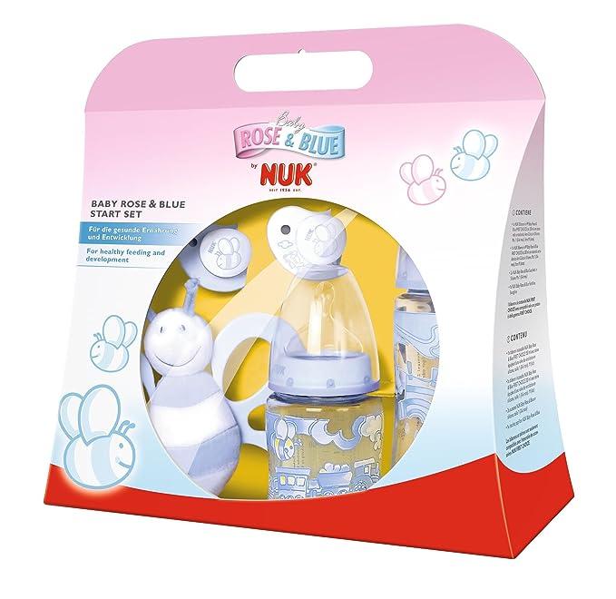 Nuk NK10750636 - Set de recién nacido, color azul