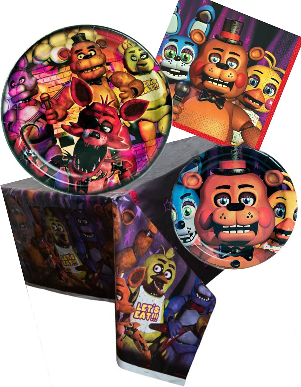 Amazon.com: Five Nights at Freddys - Juego de fiesta de ...