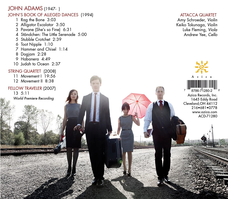 Attacca Quartet, Adams,   Fellow Traveler  Theplete String Quartet  Works Of John Adams  Amazon Music