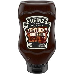 Heinz Kentucky Bourbon Style BBQ Sauce, 19.5 oz Bottle