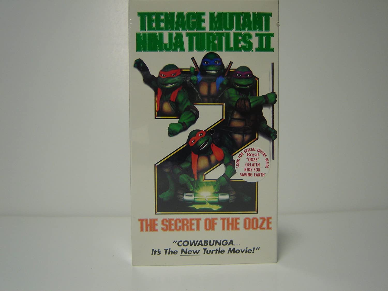 Amazon.com: Teenage Mutant Ninja Turtles II - The Secret of ...