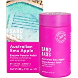 Sand & Sky Australian Emu Apple Enzyme Peeling Powder Polish - Face Exfoliator and Face Cleanser with Papaya Enzyme…