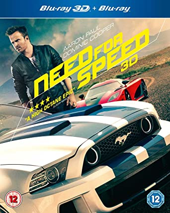 Need for Speed [Blu-ray 3D + Blu-ray] [2014]: Amazon co uk