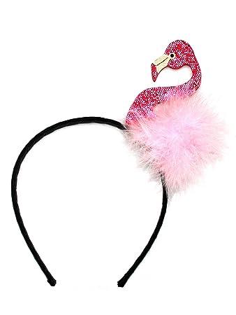 Kollefornication Flamingo Kostum Haarreif Karneval Fasching