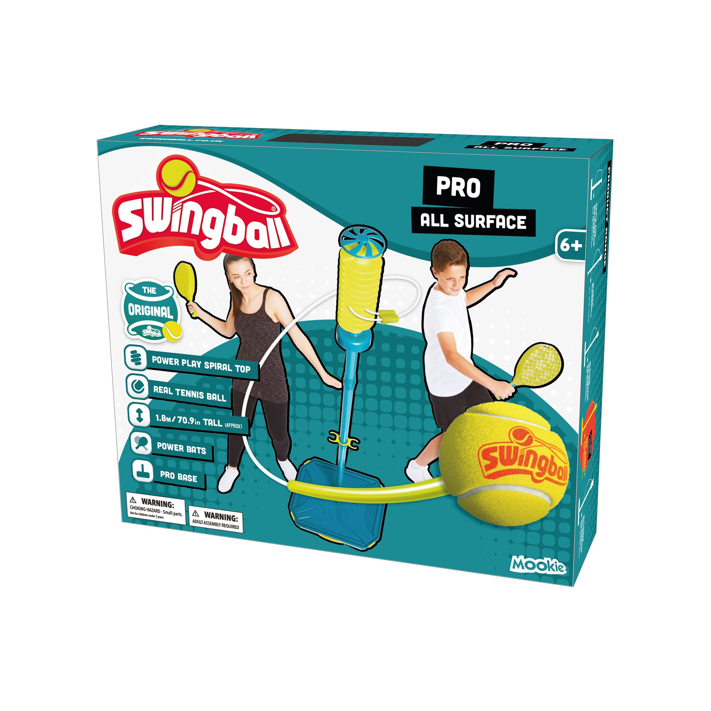 Swingball All Surface PRO Tetherball – Portable Tetherball Set by Swingball