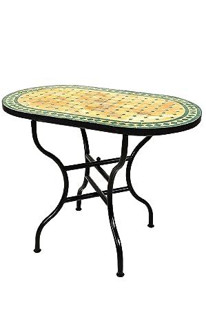 Original Maro kkanischer mosaïque Table de jardin 100 x 60 ...