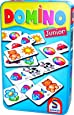 Schmidt Spiele 51240 Domino: Domino Junior in Metalldose