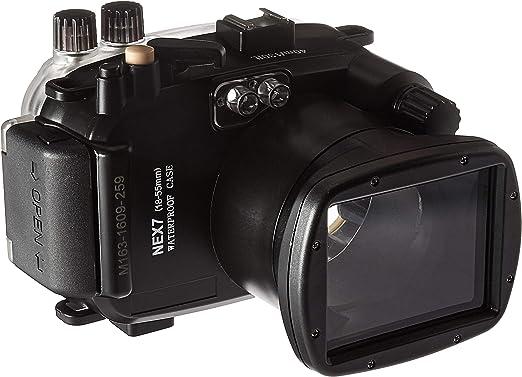 Polaroid - Carcasa Impermeable para cámara Sony NEX 7 con Lente de ...