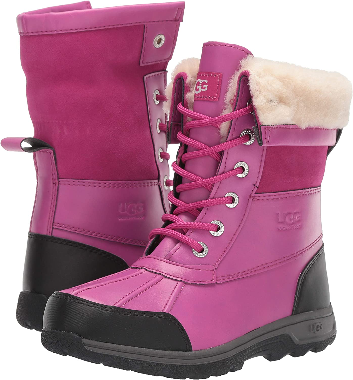 ugg butte ii youth snow boot
