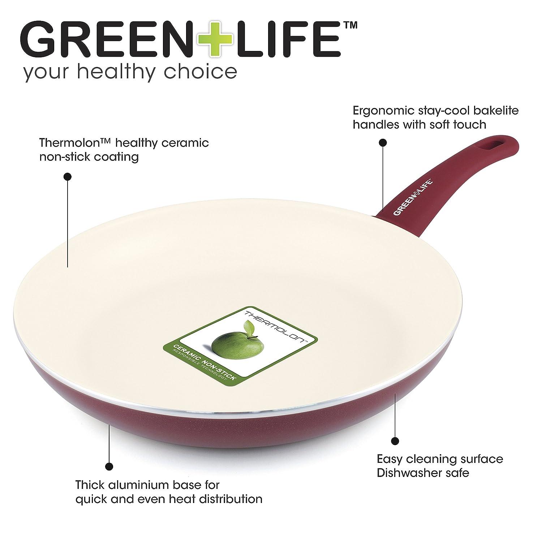 Amazon.com: Greenlife cerámica antiadherente 14-piece Soft ...